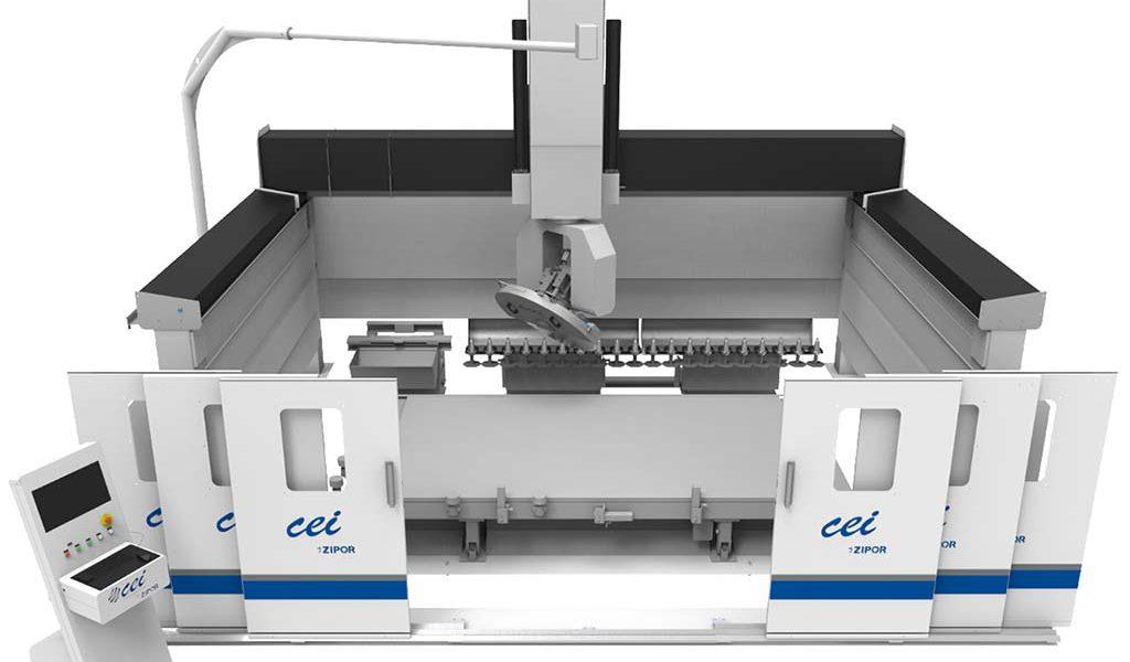 CEI Zipor Maschine