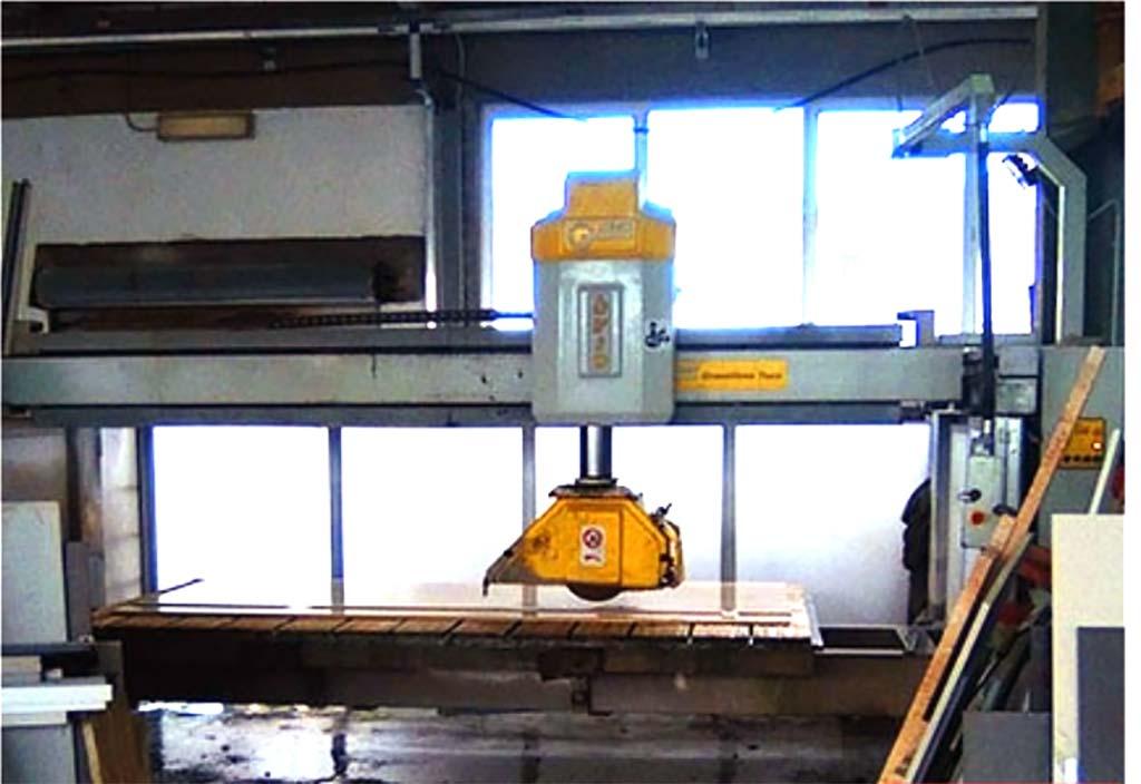 GMM Brückensäge Brio Top, Baujahr 2009
