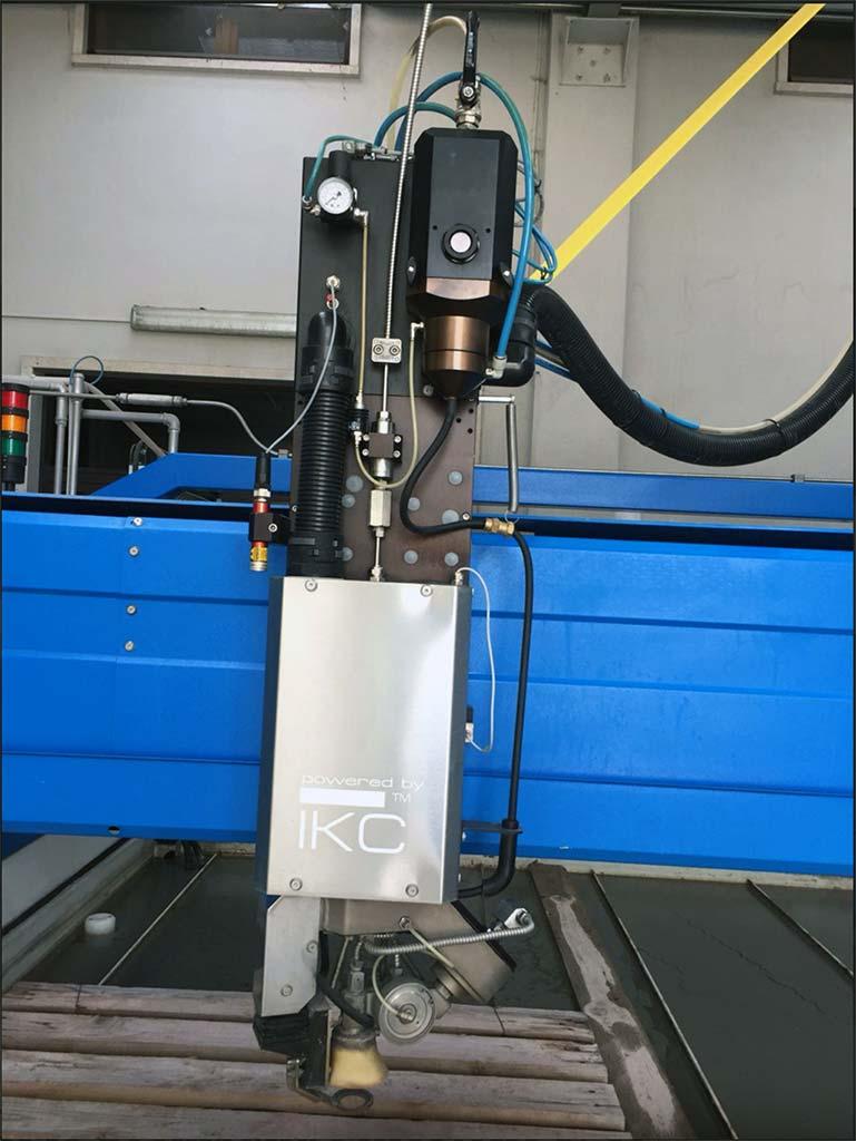 CMS Tecnocat (Brembana) Wasserstrahlschneideanlage Milestone mit 5x Kopf