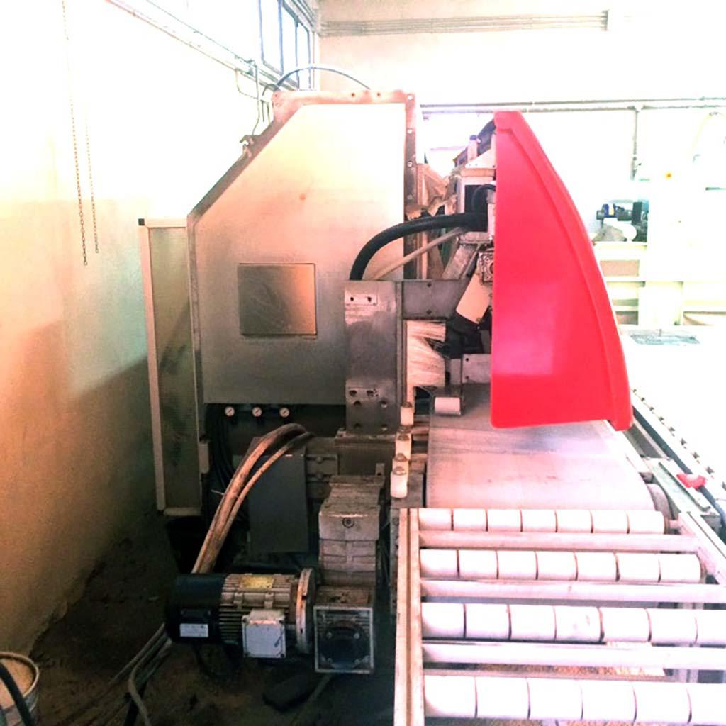Kantenschleifmaschine SassoMeccanica Modell TE Evolution, Baujahr 2011